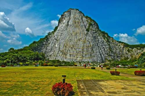 Mountain and rock landscape in Thailand free photo