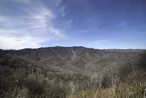 Mountain Landscape in Great Smoky Mountains National Park, North Carolina free photo
