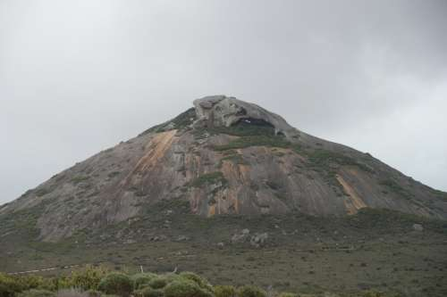 Mountain Peak at Cape Le Grand National Park, Western Australia free photo