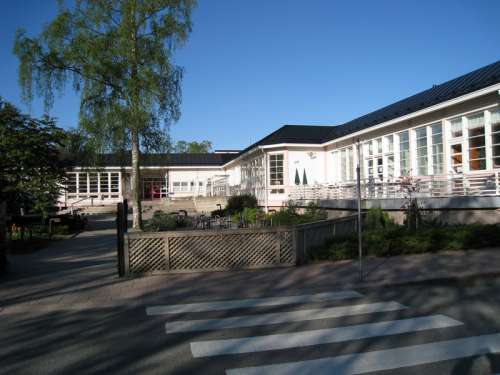 Municipal library in Salo, Finland free photo