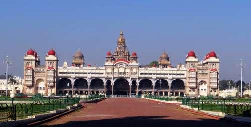 Mysore Palace in India free photo