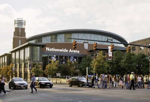 Nationwide Sports Arena in Columbus, Ohio free photo