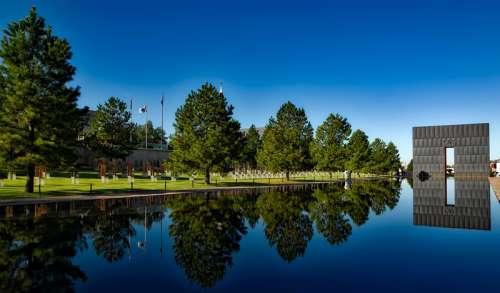 Oklahoma City Bombing Memorial in Oklahoma free photo