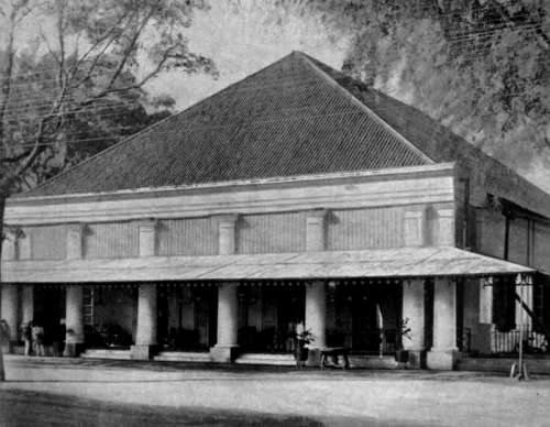 The Old SImpang Club in Surabaya, Indonesia free photo