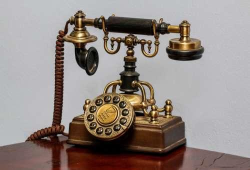 Old Style Classic Telephone free photo