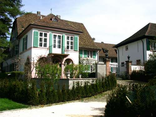 Old Wenkenhof in Riehen, Switzerland free photo