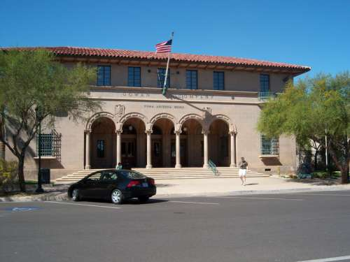 Old Yuma Post Office in Arizona, United States free photo