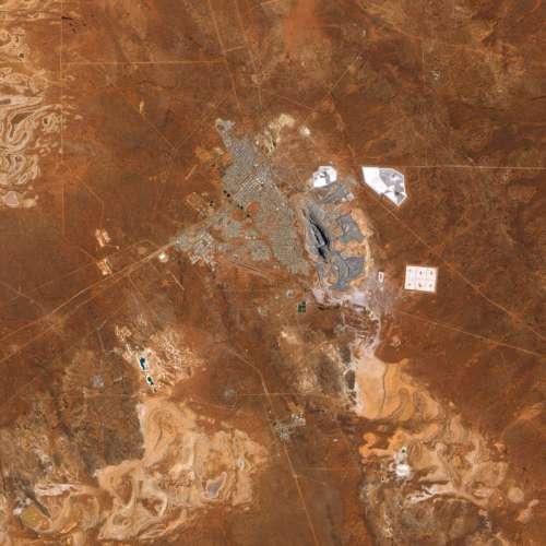 Open Cut Goldmine Super Pit near Kalgoorie, Western Australia free photo