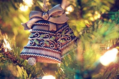 Ornament Christmas Bells free photo