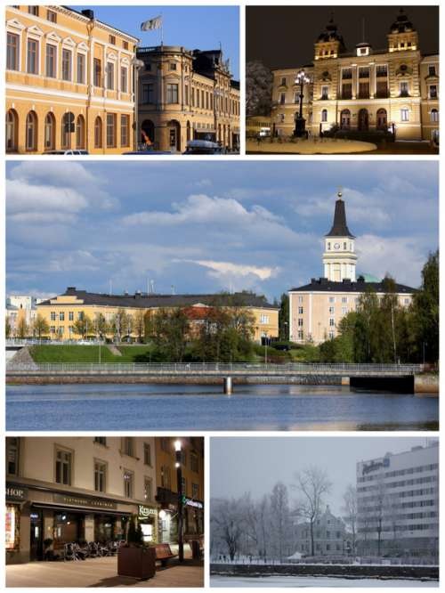 Oulu Collage in Finland free photo