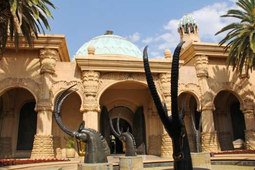 Palace of Lost City architecture in Johannesburg, South Africa free photo