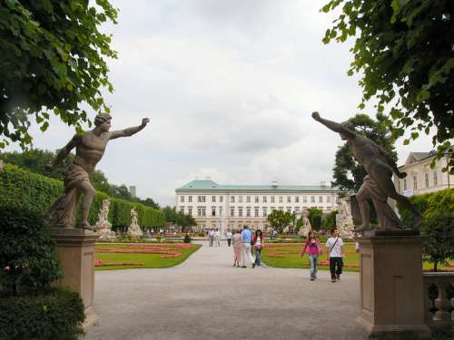 Palace of Mirabell in Salzburg, Austria free photo
