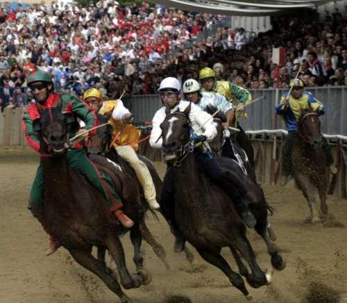 Palio di Asti Horse Race in Asti, Italy free photo