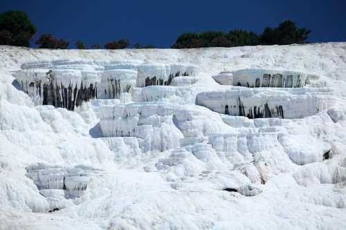 Pamukkale ancient Calcium deposits in Turkey free photo
