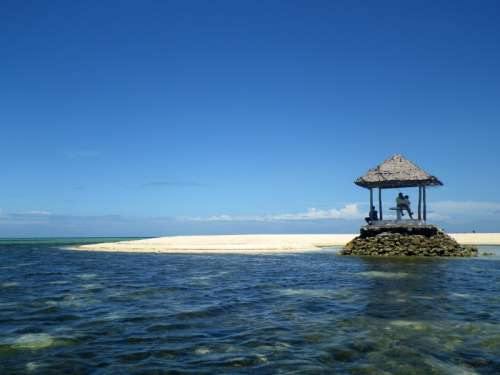 Pandanon Island in the Philippines free photo