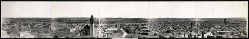 Panorama of the Cityscape of Albany, New York in 1906 free photo