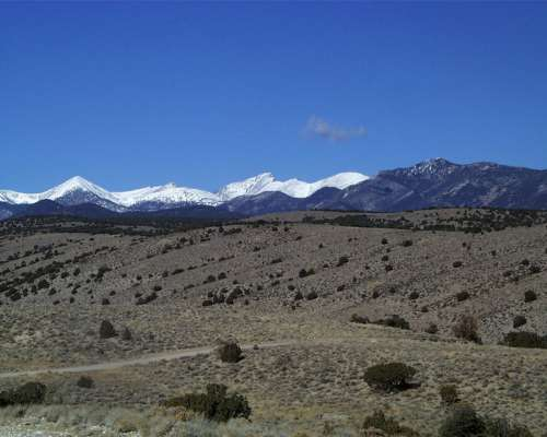Park from Lexington Road in Great Basin National Park, Nevada free photo