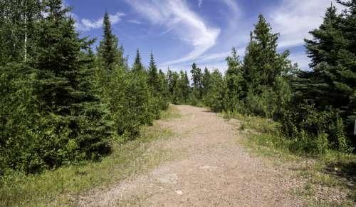 Path up the Canyon at Eagle Canyon, Ontario free photo