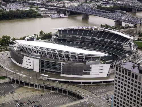 Paul Brown Stadium in Cincinnati, Ohio free photo