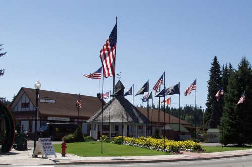 Pend Oreille County Historical Museum in Newport, Washington free photo