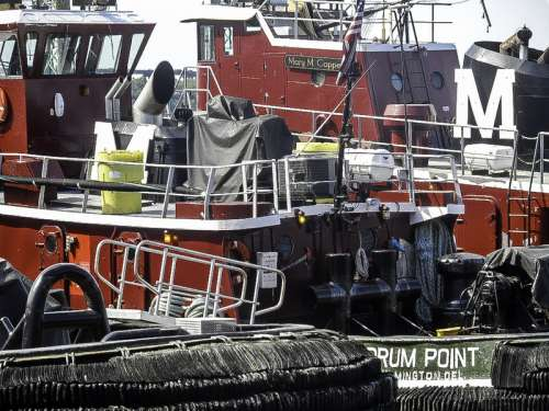 Piscataqua River Tugboat in Portsmouth, New Hampshire free photo