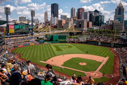 Pittsburgh Pirates Baseball Park in Pennsylvania free photo