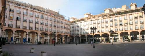 Plaza Mayor building in Elda, Spain free photo
