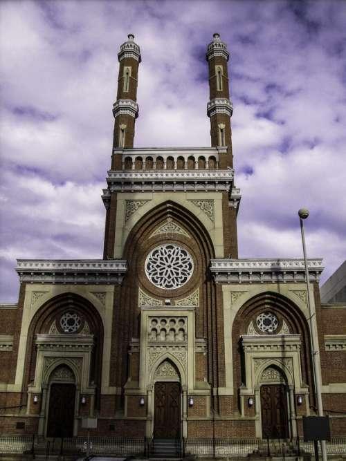 Plum Street Temple in Cincinnati, Ohio free photo