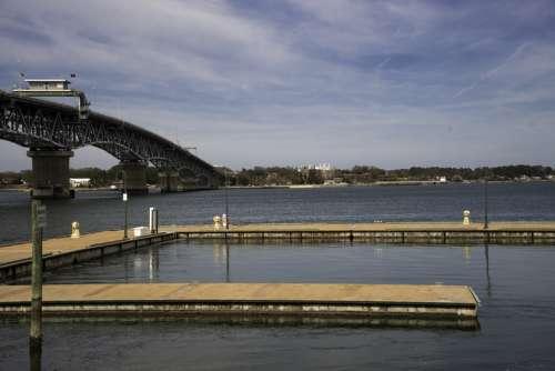 Private Docks at Yorktown, Virginia free photo