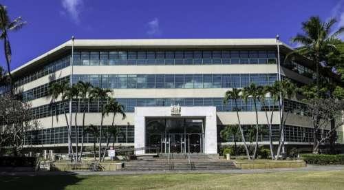 Queen Liliuokalani Building in Honolulu, Hawaii free photo