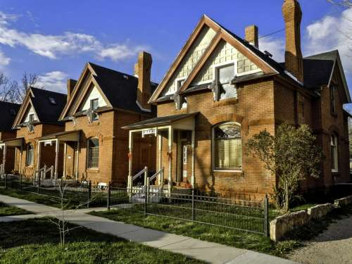 Rainsford Historic District in Cheyenne, Wyoming free photo