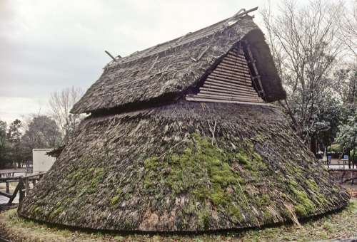 Reconstructed building at the Toro archeological site in Shizuoka, Japan free photo