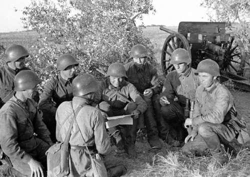 Red Army artillery unit during the Battle of Lake Khasan, 1938 , World War II free photo