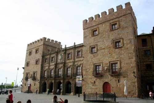 Revillagigedo Palace in Gijon, Spain free photo