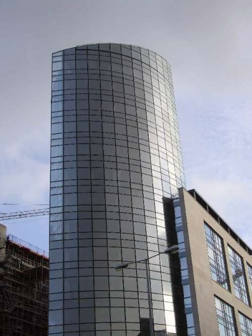 Riverpoint, The Tallest building in Limerick, Ireland free photo