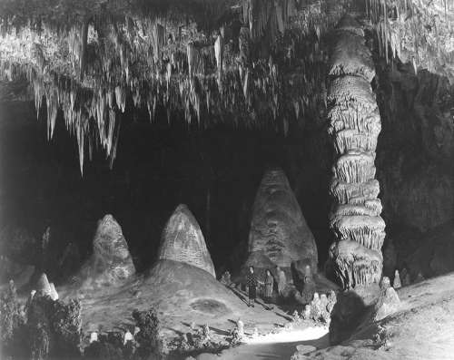 Rock of the Ages in Carlsbad Caverns National Park, New Mexico free photo