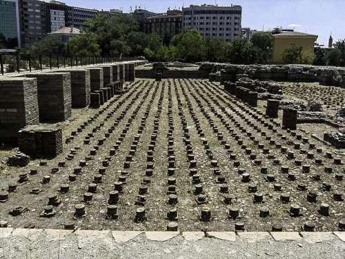 Roman Baths of Ankara, Turkey free photo