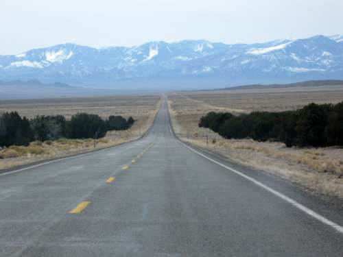 Route 50 in Great Basin National Park, Nevada free photo