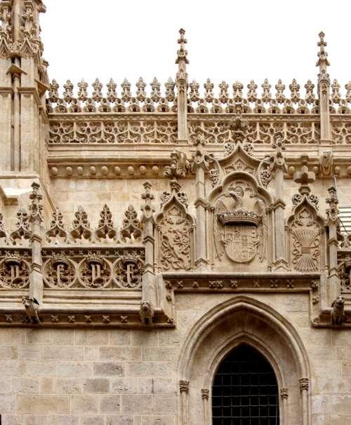 Royal Chapel of Granada in Spain free photo
