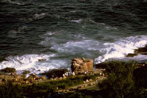 Rugged Coastline at Acadia National Park, Maine free photo