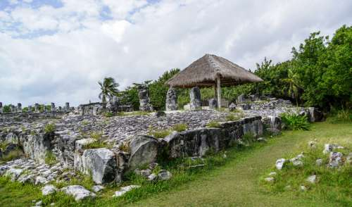 Ruins and Ancient Structures in Cancun, Mexico free photo