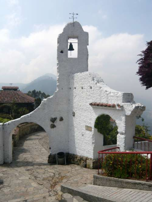 Ruins of a an old chapel in Bogota, Colombia free photo
