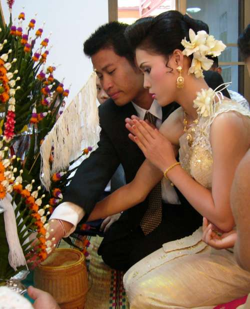 Rural Thai Marriage, Thailand free photo