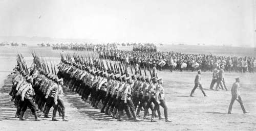 Russian Infantry of World War I free photo