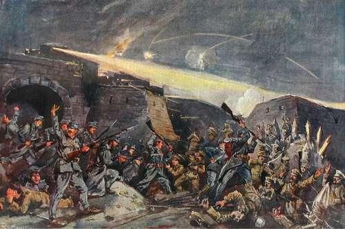 Russian Siege of Przemyśl During World War I free photo