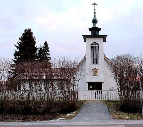 Saint John the Baptist Orthodox Church in Kemi, Finland free photo