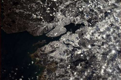 Satellite Image of Halifax, Nova Scotia free photo