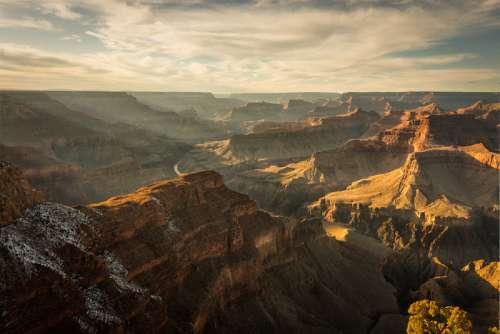 Scenic Landscape of the Grand Canyon, Arizona free photo