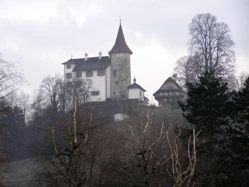 Schloss Schauensee in Kriens in Switzerland free photo