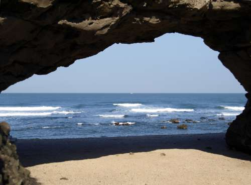 Sea Cave in Taiwan free photo